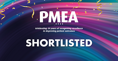 We've been shortlisted! PMEA Awards 2020